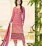 Pink Embroidered Straight Suit - Online Shopping India
