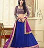 Designer Blue Lehenga Choli by Sunder Creation - Online Shopping India