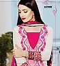 Zubeda's Designer Georgette White Straight Suit - Online Shopping India