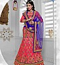 Mukta Mishra's Designer Red Lehenga Choli - Online Shopping India