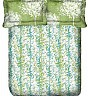 OSI DD Queen Green Printed BedSheet with 2 Pillow Covers - Online Shopping India