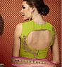 Green And Soft Pink Lehenga Choli - Online Shopping India