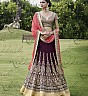 Magenta And Peach Lehenga Choli - Online Shopping India